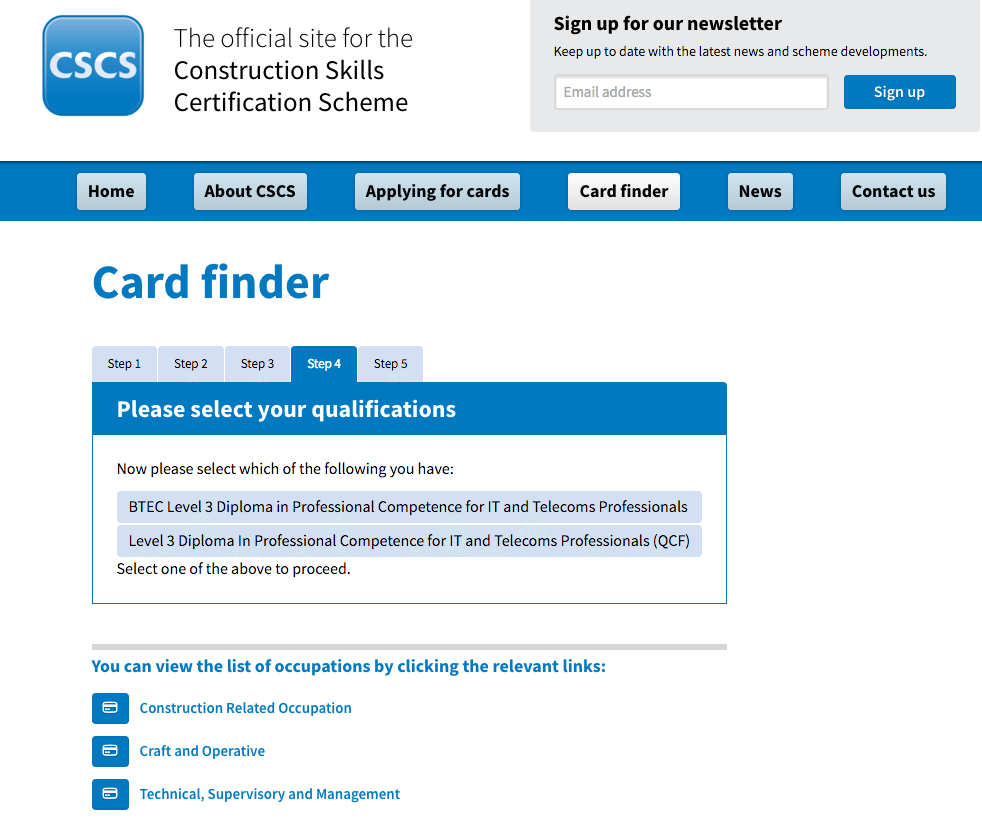 Data Cable Engineer CSCS Card – Which is the right card